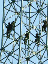 高压线铁塔防腐