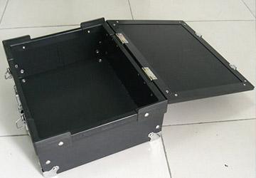 山东注塑厂之PP塑料中空板周转箱-山东模具