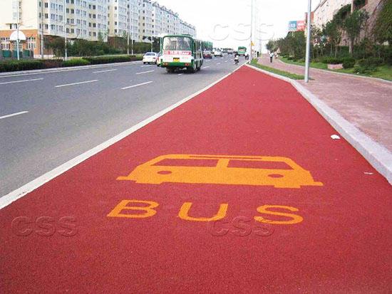 郑州彩色防滑路面