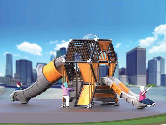 创意蜂巢滑梯