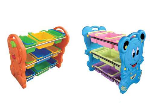 玩具分類架