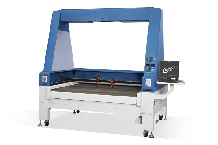 Digital printing laser cutting machine