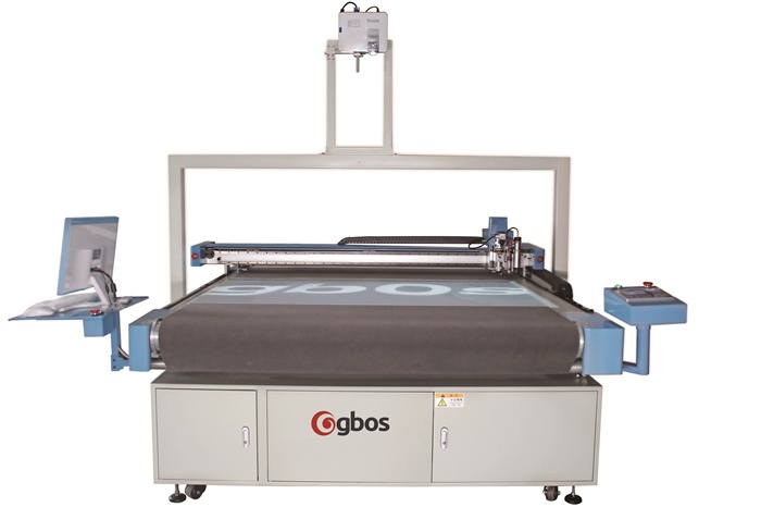 Vibration Blade Leather Cutting Machine