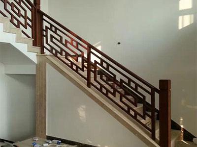 石家莊中式花格梯製作