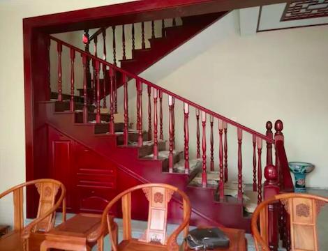 河北实木楼梯