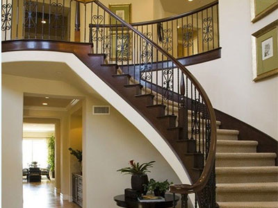 石家庄旋转梯设计