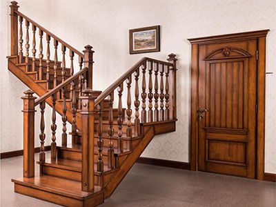 石家莊實木樓梯定製