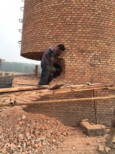 江苏砖烟囱维修