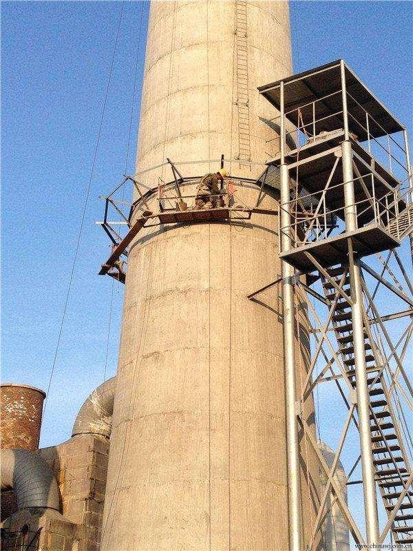 煙囪爬梯護網安裝
