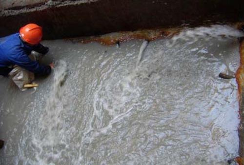 汙水池堵漏