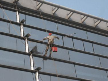 高空大廈外牆清洗