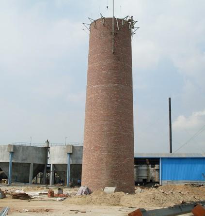 磚煙囪新建新砌