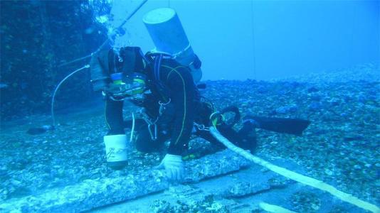 水下物品打捞工程
