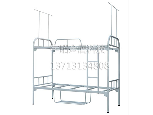 双层铁架床