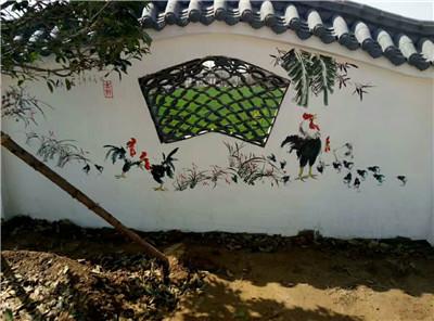 文化墙墙体彩绘