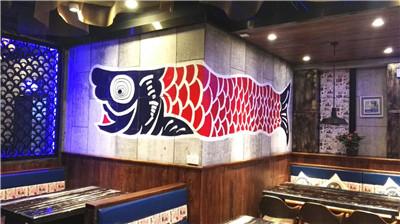 主题餐厅墙绘