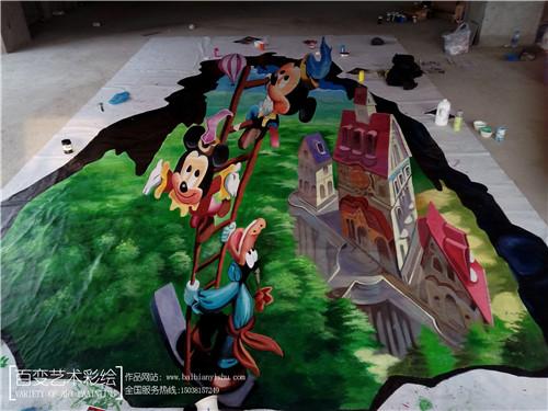 郑州墙绘公司