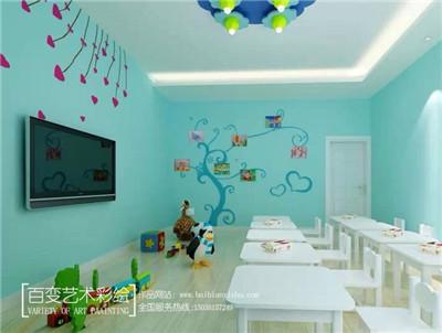 幼儿园墙壁彩绘