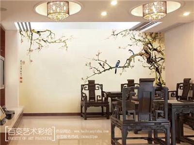 郑州彩绘墙