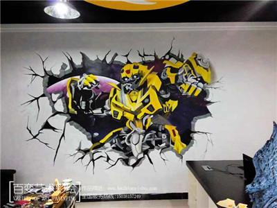 郑州墙绘设计施工