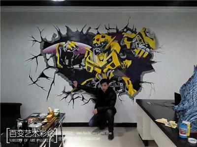 郑州彩绘墙公司