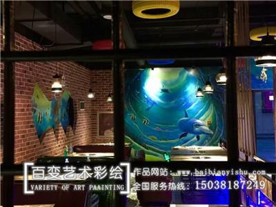许昌郑州饭店彩绘