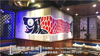 洛阳河南墙体彩绘设计
