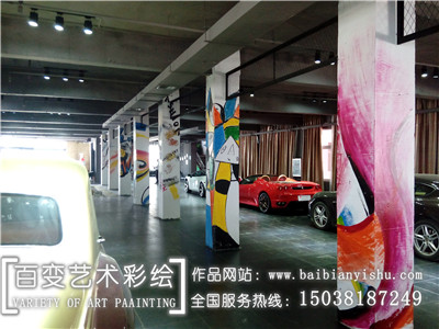新乡郑州工装彩绘