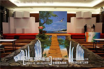 河南手绘壁画