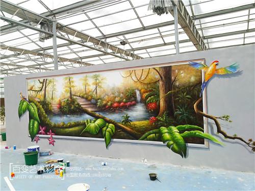 墙体3d彩绘