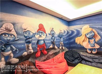 新郑墙体彩绘设计