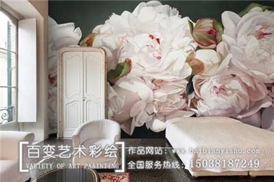 洛阳郑州墙体彩绘设计