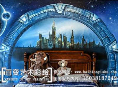 新郑郑州墙体彩绘设计公司