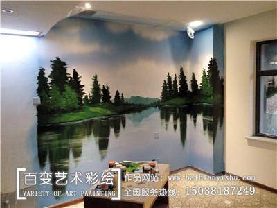 河南酒店彩绘公司