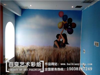 新郑河南酒店宾馆彩绘