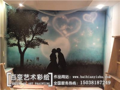 郑州酒店宾馆彩绘