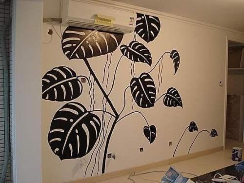 新密郑州手绘墙