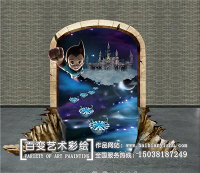 新乡河南墙体彩绘机构
