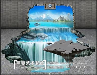 新密郑州墙体彩绘机构