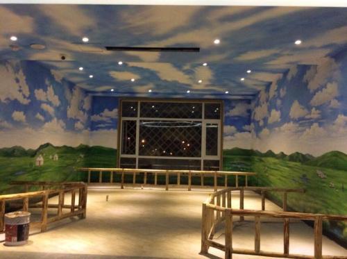 新乡工装墙绘案例