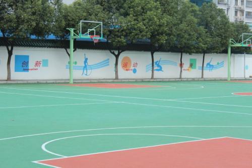 洛阳学校彩绘墙