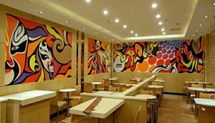 学校墙壁彩绘