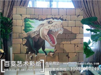 新郑河南艺术墙体彩绘