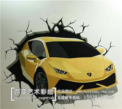 许昌墙体彩绘企业