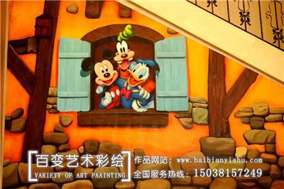 安阳河南3D彩绘公司
