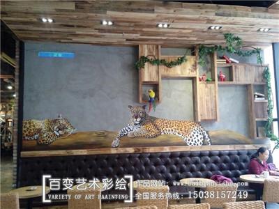 河南手工墙体彩绘