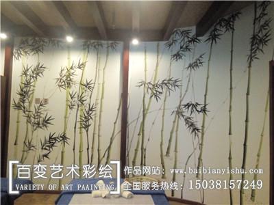 河南工装墙体彩绘公司