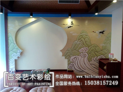 新密河南墙体彩绘设计施工公司
