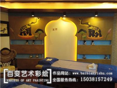 河南墙体彩绘设计施工