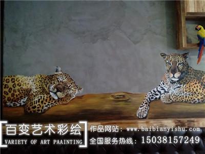 河南室内墙体彩绘
